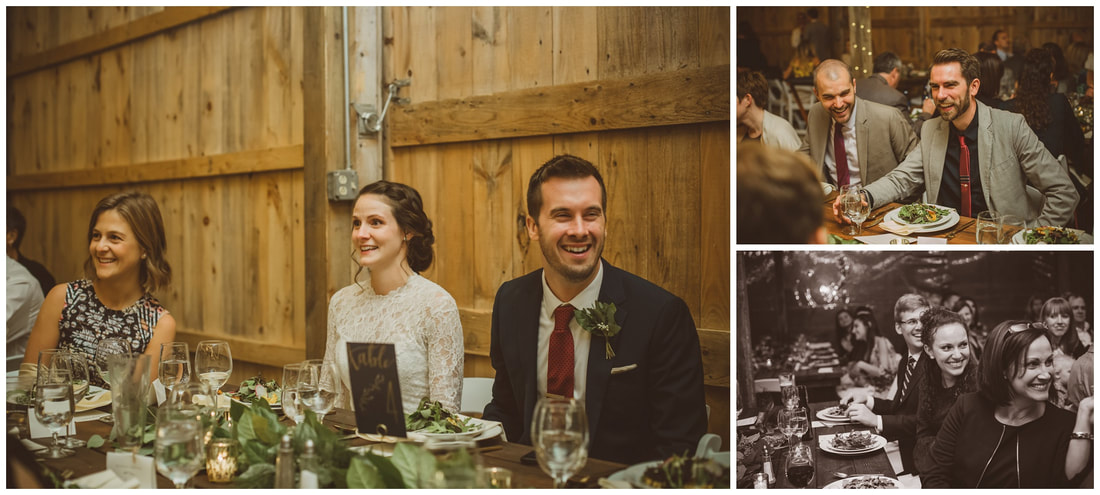 rustic rose barn weddings receptiong, photography
