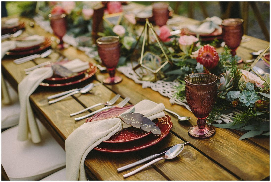 boho tablescape, boho wedding, wedding inspiration