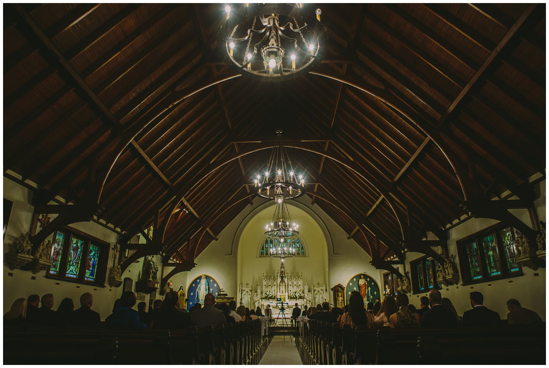 st peters church, our lady of the rosary, wedding, ceremony