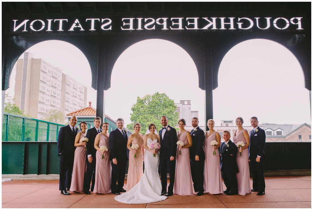 poughkeepsie train station, wedding, photographer