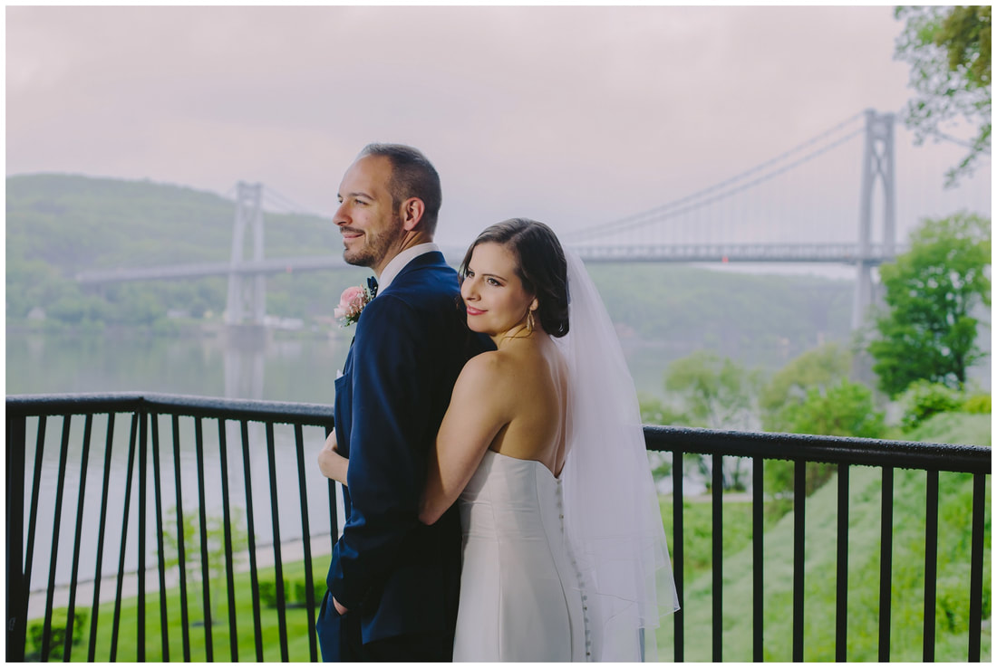 mid hudson bridge, wedding photography