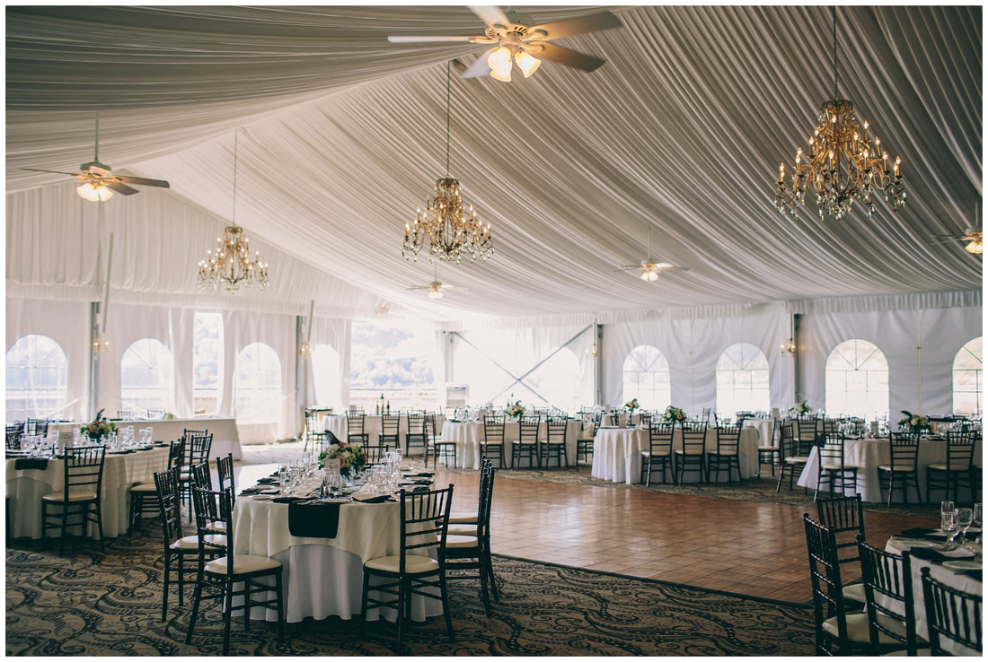 the grandview tent, wedding