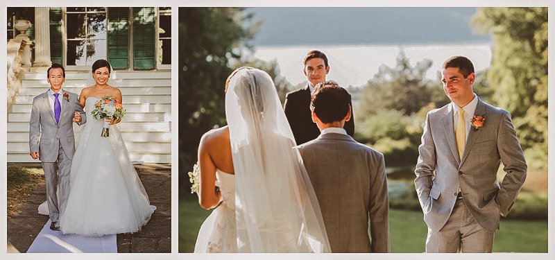 montgomery place wedding ceremony, photography